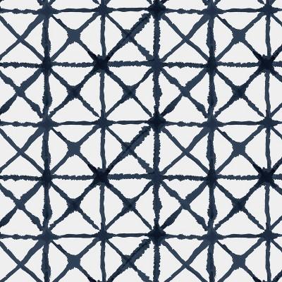 Indigo Print Throw Pillow - Skyline Furniture : Target