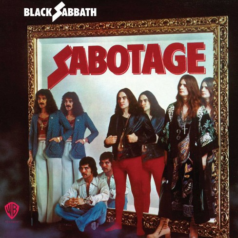 Black sabbath - Sabotage (CD) - image 1 of 1