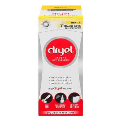 Dry Cleaning Kits: dryel