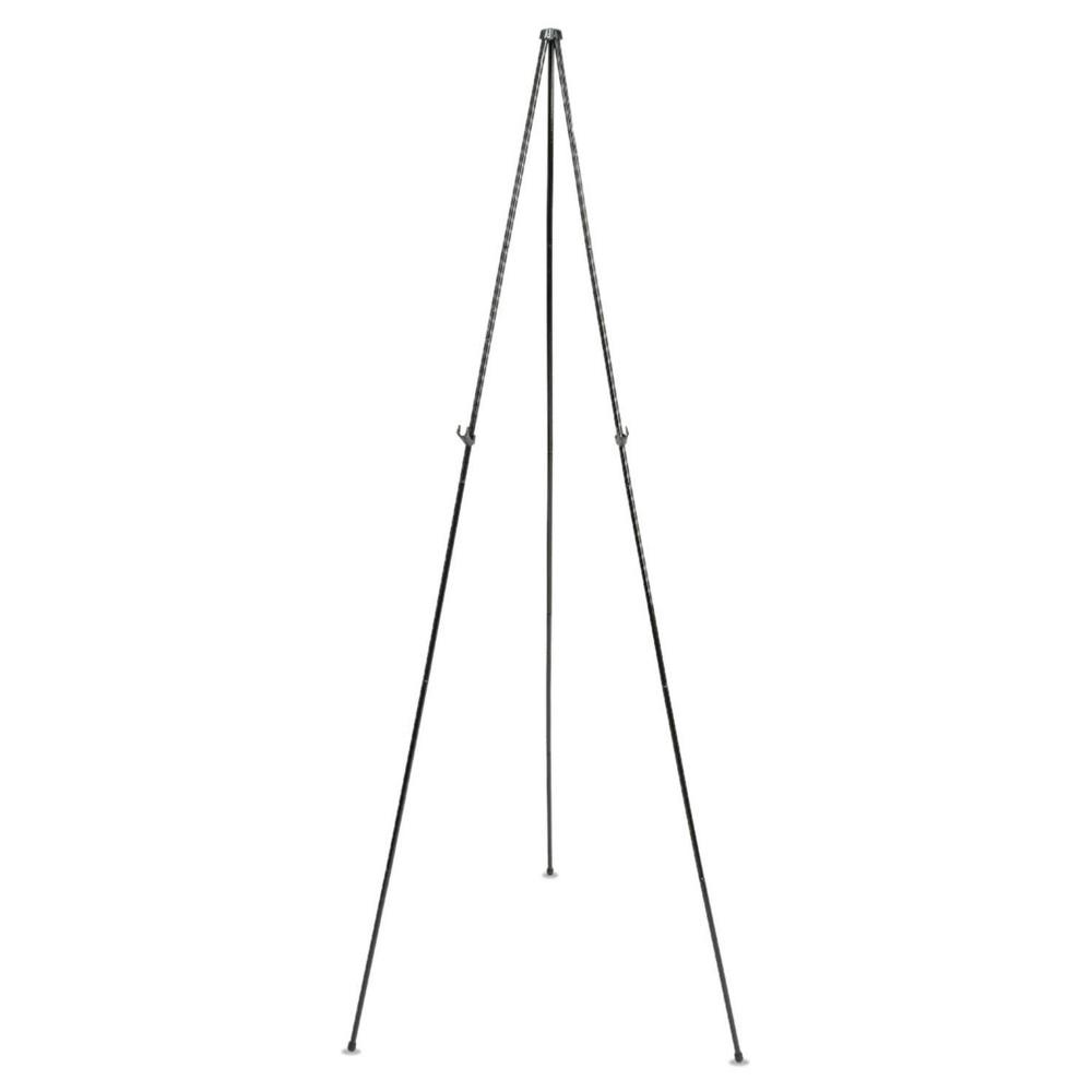 Quartet 62-3/8 Steel Full Size Instant Easel - Black