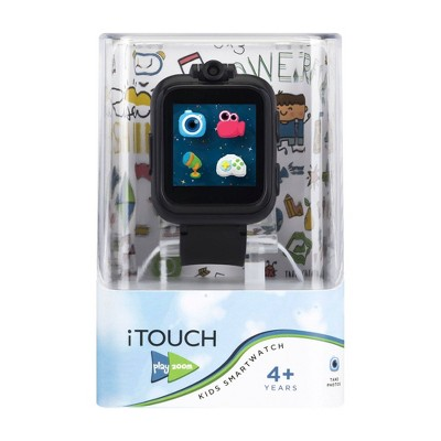 PlayZoom Interactive Educational Smartwatch for Kids 48mm - Solid Black Band