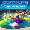 Swimline Inflatable Swimming Pool Chair Float & Swimming Pool Basketball Game - image 3 of 4
