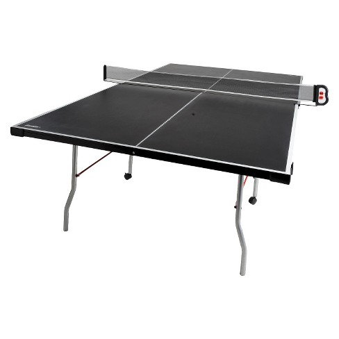 Franklin Sports Curved Leg Table Tennis Table with Paddle Set - image 1 of 5