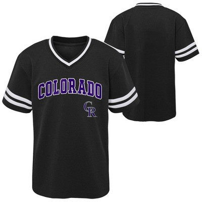 MLB Colorado Rockies Toddler Boys' Pullover Jersey