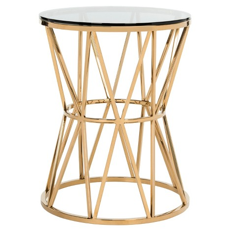 End Table Gold - Safavieh - image 1 of 5