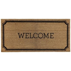 "1'10""x3'11"" Welcome Estate Doormat - Threshold™"