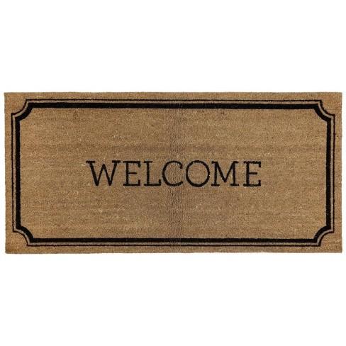 """1'10""""x3'11"""" Welcome Estate Doormat - Threshold™ - image 1 of 3"""