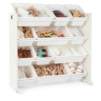 Toy Organizer - Cambridge Collection - White - Tot Tutors