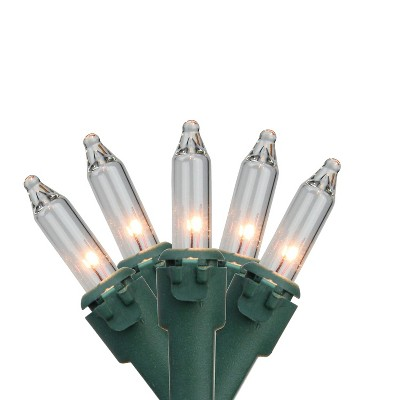 Northlight 4' x 6' Clear Net Style Christmas Lights, Green Wire