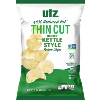 Potato Chips: Utz Thin Cut