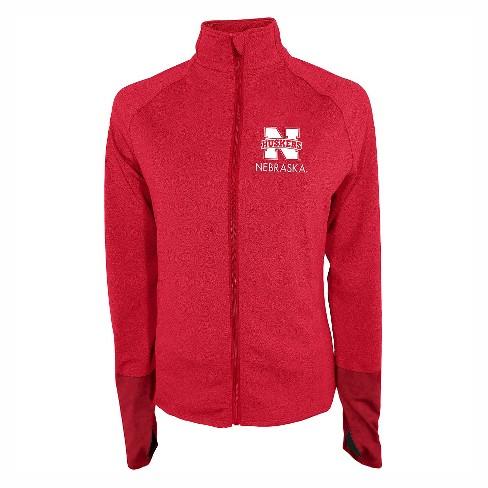 NCAA Nebraska Cornhuskers Women's Windbreaker Jacket - XL - image 1 of 1