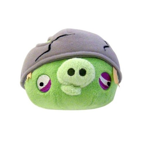Commonwealth Toys Angry Birds Helmet Pig 16 Plush Target