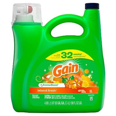 Gain Island Fresh + Aroma Boost Liquid Laundry Detergent