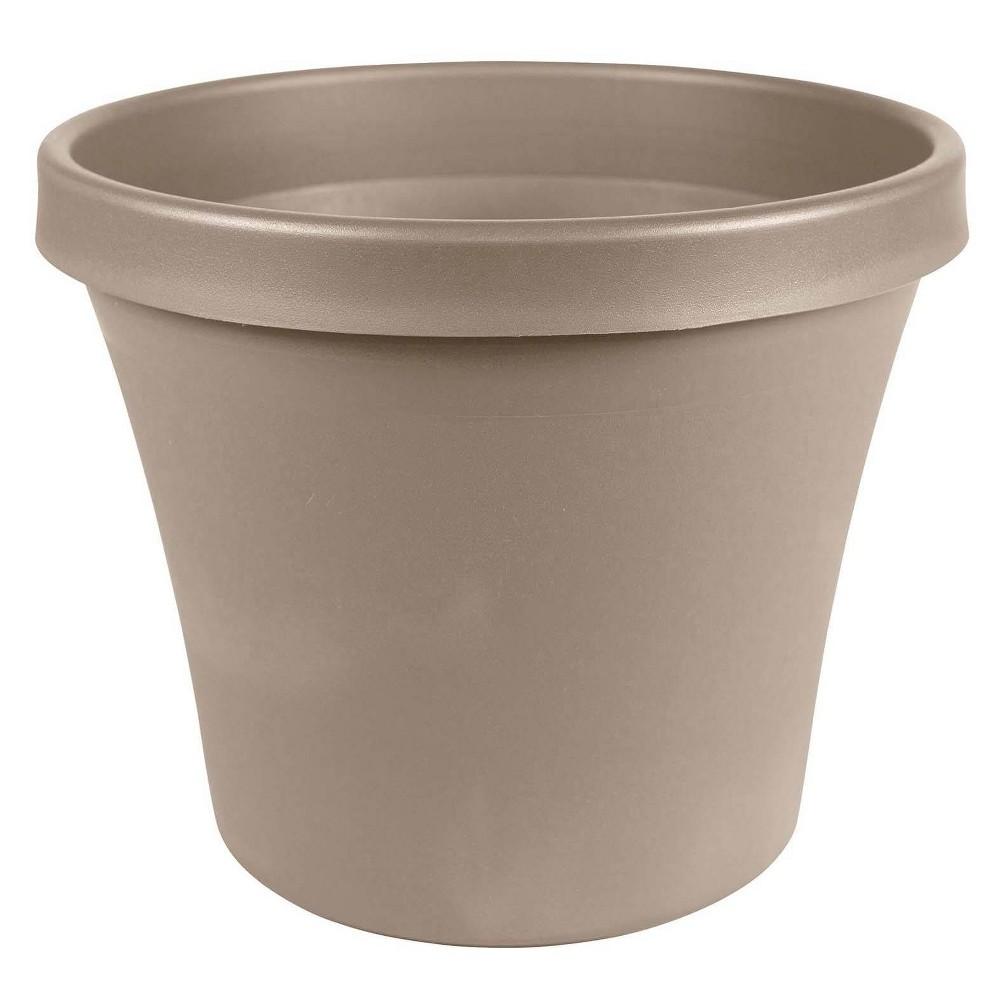 "Image of ""10"""" Terra Pot Planter Pebble Stone - Bloem"""