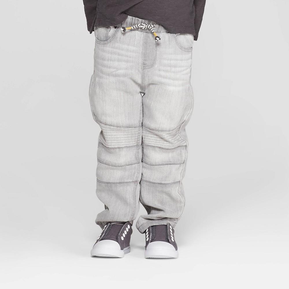 Toddler Boys' Moto Jeans - art class Gray 3T