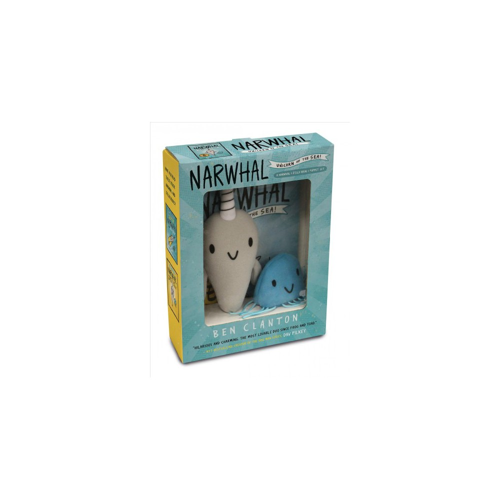 Narwhal and Jelly 1 : Unicorn of the Sea! - Pap/Toy by Ben Clanton (Paperback)