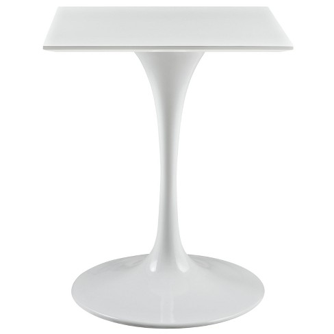"Lippa 24"" Square Wood Top Dining Table White - Modway - image 1 of 4"
