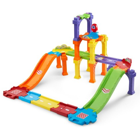 VTech Go! Go! Smart Wheels Levels & Ramps Track Set - image 1 of 5