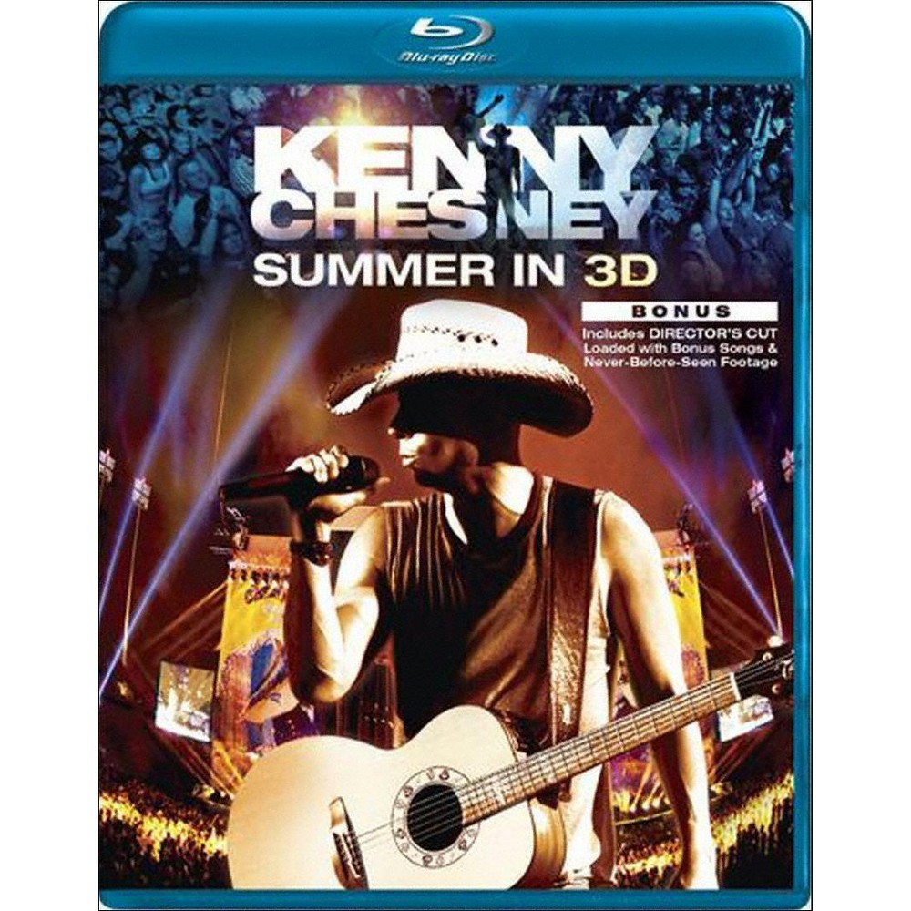 Kenny Chesney:Summer In 3d (Blu-ray)