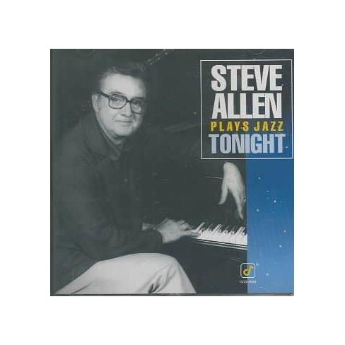 Steve Allen - Plays Jazz Tonight (CD) - image 1 of 1