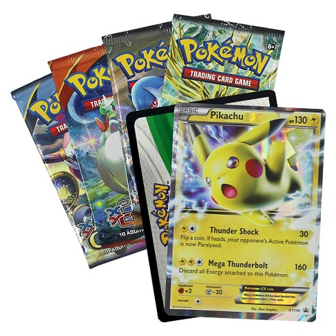 Pokemon Trading Card Game Battle Heart Tin Featuring Pikachu Target