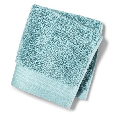 Reserve Solid Washcloth Dusty Blue - Fieldcrest®
