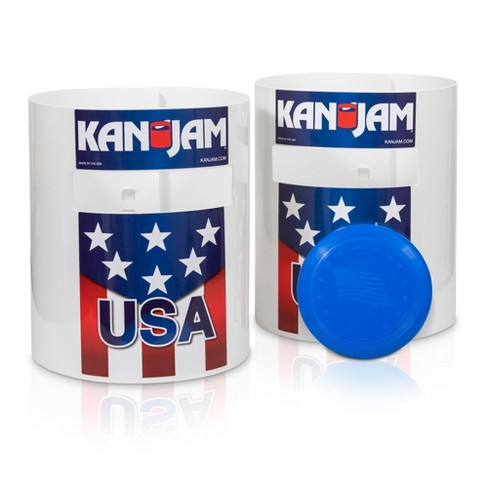 Kan Jam Portable Multiplayer Disc Slam Outdoor Game with 2 Targets, 1 Disc, Goals and Instructions - image 1 of 4