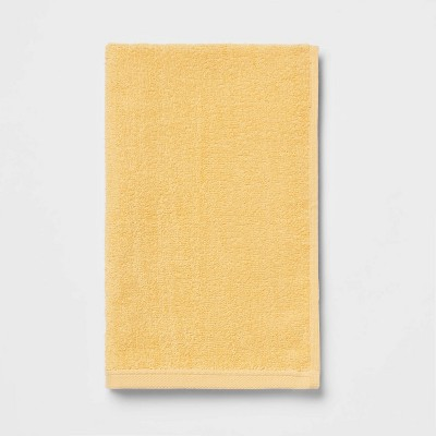 Everyday Hand Towel Yellow - Room Essentials™