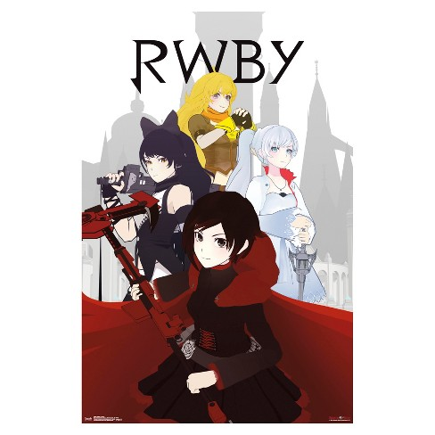 RWBY Group Poster 34x22 - Trends International - image 1 of 2