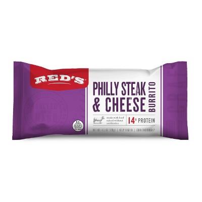 Red's Frozen Philly Steak & Cheese Burrito - 4.5oz