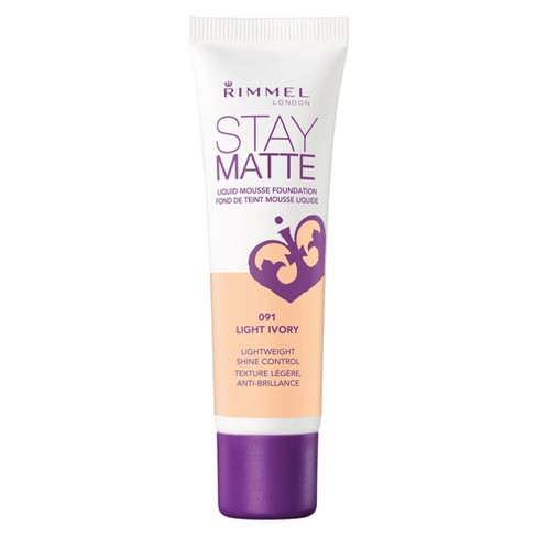 Rimmel Stay Matte Liquid Mousse Foundation - Fair Shades - 1 fl oz - image 1 of 2