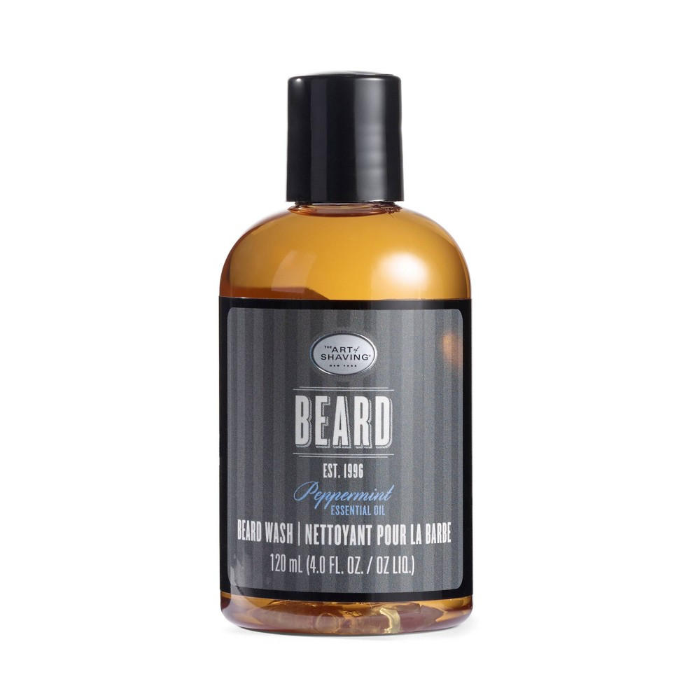 Image of The Art Of Shaving Men's Peppermint Beard Wash - 4oz