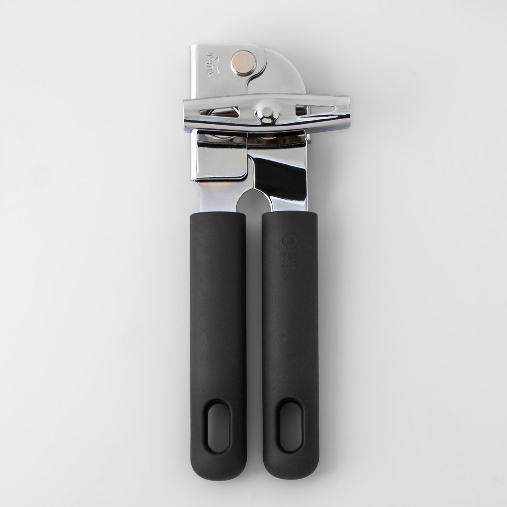 Stainless Steel Can Opener with Soft Grip - Made By Design
