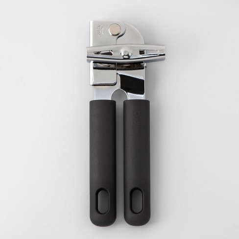 Stainless Steel Can Opener with Soft Grip - Made By Design™ - image 1 of 3