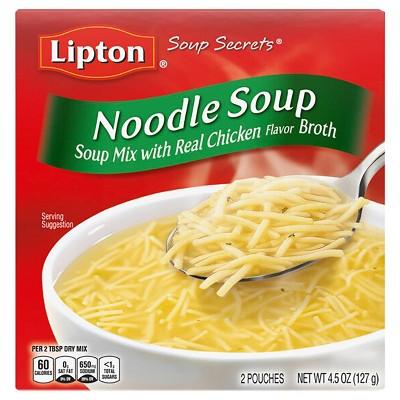 Lipton Soup Secrets Noodle Soup Mix - 4.5oz/2pk