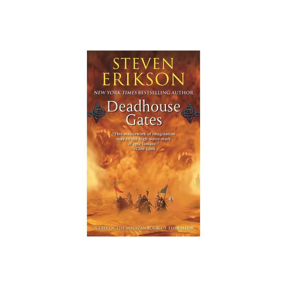 Deadhouse Gates Malazan Book Of The Fallen Paperback By Steven Erikson Paperback