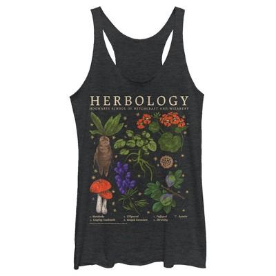 Women's Harry Potter Hogwarts Herbology Racerback Tank Top
