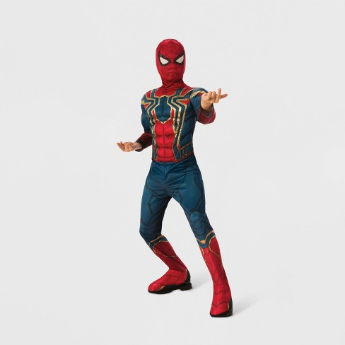 Boys' Marvel Spider-Man Muscle Chest Halloween Costume - image 1 of 1