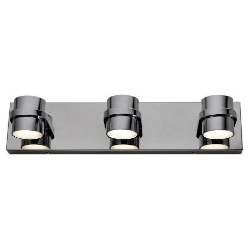 """4"""" Twocan 3 Arm LED Bath Fixture Polished Chrome Finish - Varaluz - image 1 of 3"""
