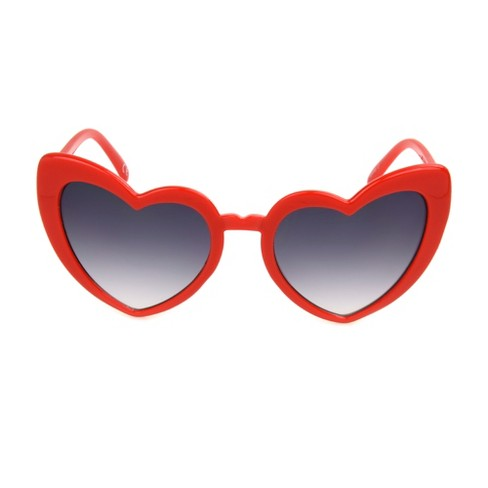 Women's Fable™ Red Heart Sunglasses Wild Shaped WHD9I2E