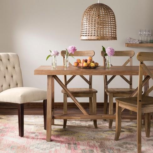 Wheaton Farmhouse Trestle Dining Table