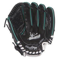 "Rawlings Playmaker Series 11"" T Ball Glove - Black/Camel"