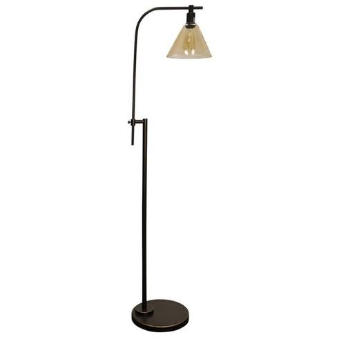 Madison Floor Lamp Bronze Cloud (Includes Light Bulb) - StyleCraft - image 1 of 2