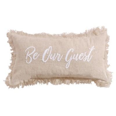 Pembroke Be Our Guest Decorative Pillow - Levtex Home
