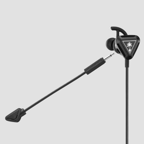Turtle Beach Battle Buds In-Ear Gaming Headset -Black/Silver