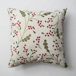 Berries Throw Pillow Cream - Threshold™