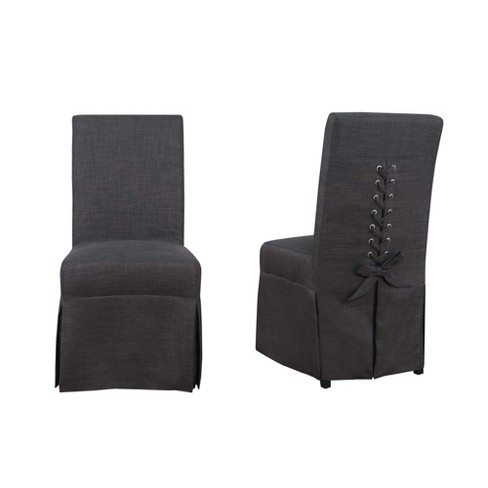 Set Of 2 Hayden Dining Room Parsons Chair Charcoal Picket House Furnishings Target