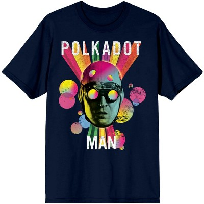 The Suicide Squad Movie Polkadot Man Navy Graphic Tee