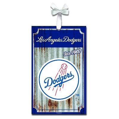 Evergreen Los Angeles Dodgers Corrugated Metal Ornament