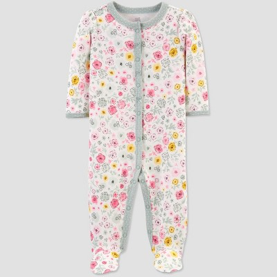 Baby Girls' Floral Sleep N' Play - Just One You® made by carter's